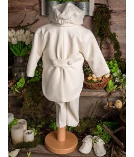 Costum alb de botez baiat, 0-9 luni, 28557