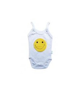 Body maiou Smiley, bumbac, 0-9 luni, 28664