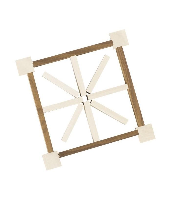Set de constructie 200 de elemente GoKi, lemn, 10.5 x 2.1 cm