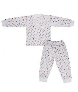 Pijamale fete, 1-6 ani, bumbac, Pifou, 28736