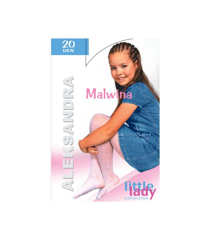 Dres alb fete, 4-12 ani, Malvina, 8040