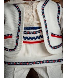 Costum botez baiat, popular, 0-6 luni, 28784