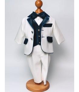 Costum elegant de baiat cu insertii, 0-4 ani, 28843