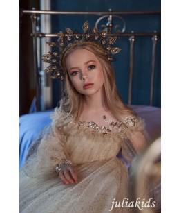 Rochie lunga de printesa, 2-18 ani, JuliaKids, 27756