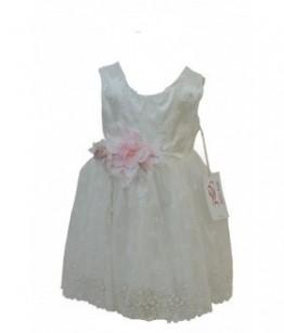 Rochita pentru fetite, Belle White, 3 ani, 98 cm