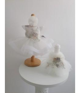 Lumanare botez fetita, ivoire, Colibri, 29025