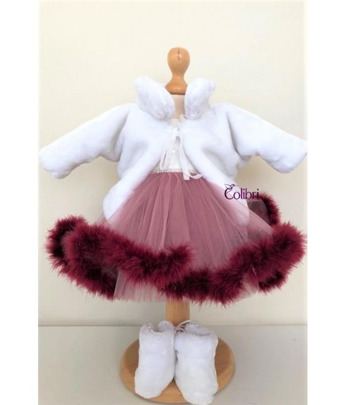 Rochita pentru fetite,  Susie, 0-12 luni, Colibri, 5878