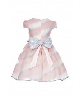 Rochita de ocazie fetita, roz, 4-8 ani, Pamina, 29110