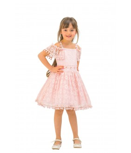 Rochita eleganta de fetita roz, 4-8 ani, Pamina, 29112