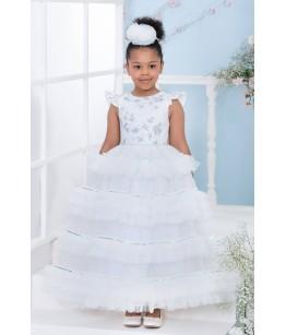 Rochita lunga din tulle, 4-8 ani, Pamina, 28450