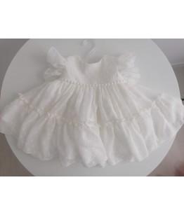 Rochita alba de fetita, 0-12 ani, Colibri, 29132