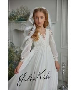 Rochie Prima Comuniune, 2-18 ani, JuliaKids, 29179