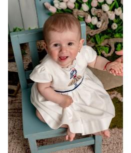 Rochita fetita, 0-12 luni, bumbac, 28908