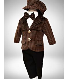 Costum baieti, Thomas, 0-24 luni, JuliaKids, 29289