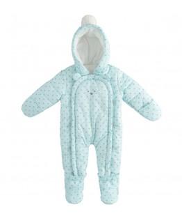 Combinezon bebe, baiat, 9-18 luni, iDO Kids, 43297-6RR2