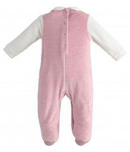 Salopeta nou-nascut, fata, 1-6 luni, iDO Kids, 43266