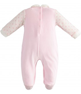 Salopeta bebelus, fata, 6-12 luni, iDO Kids, 43295-2763