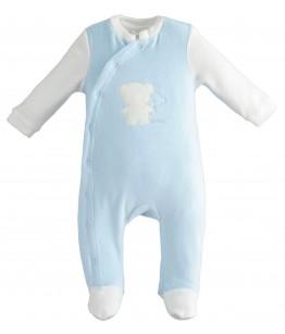 Salopeta bebelus, baiat, 6-12 luni, iDO Kids, 43161
