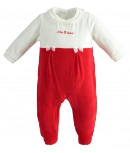 Salopeta nou-nascut, fata, 0-3 luni, iDO Kids, 43290