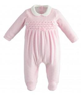 Salopeta bebelus, fata, 3-9 luni, iDO Kids, 43258