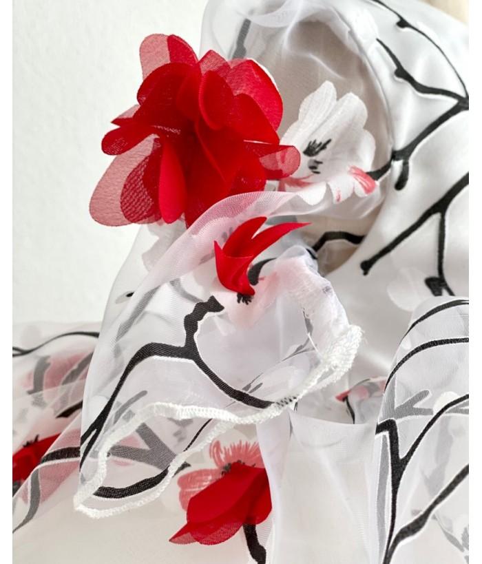 Rochita cu flori rosii, 0-2 ani, Colibri, 29396