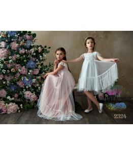 Rochita de ocazie pentru fetite Syeira, voal, 2-13 ani, 92-158 cm