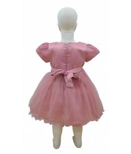 Rochita pentru fetite, Michelle Pink, tulle, 9-36 luni