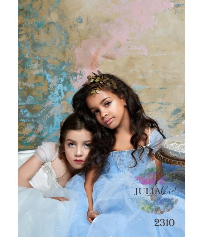 Rochie lunga de ocazie Elisa, pentru fetite, 2-13 ani