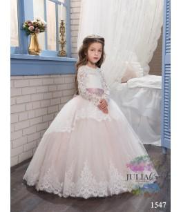 Rochie de ocazie pentru fata, Adina, corset, tulle, 4-13 ani, 104-158 cm