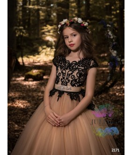 Rochie de ocazie  fete, 2-13 ani, 92-158 cm, tulle, JuliaKids, 9714
