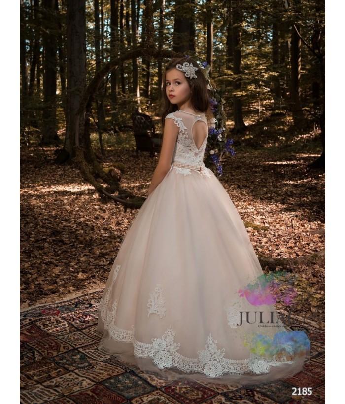 Rochie lunga pentru fete, 2-13 ani, 92-158 cm, tulle, JuliaKids, 2185