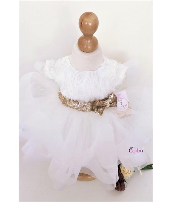 Rochita pentru fetite, Melissa, 0-2 ani, Colibri, 9747
