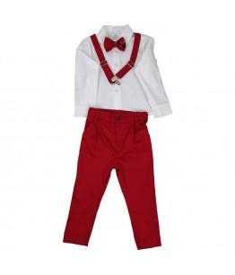 Costum baieti, 0 luni-7 ani, 4 piese, Colibri, 21875