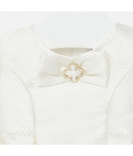 Rochita eleganta de zi, fetita, 6 luni-3 ani, 68-98 cm, alb, Mayoral, 26739