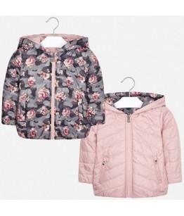 Geaca fete, 5-7 ani, 110-122 cm, roz, 2 fete, Mayoral, 26764