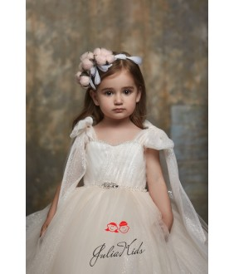 Rochie eleganta pentru fete, 2-13 ani, 92-158 cm, tulle, JuliaKids, 26785