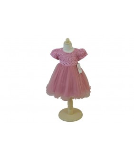 Rochita pentru fetite, Anne-Marie Pink, tulle, 2-5 ani, 92-110 cm