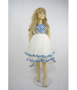 Rochia cu trena pentru fetite, Agnes, 6-10 ani, 116-140 cm