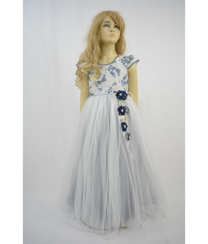 Rochia pentru fete, Moon Flower, tulle, 6-10 ani, 116-140 cm