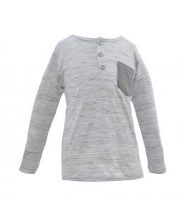 Bluza baiat Breeze, bumbac, 1-8 ani, maneca lunga