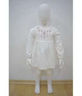 Rochia pentru fetite, Anastasia Ivory, 6 luni-3 ani, 68-98 cm