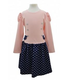 Rochia cu manca lunga pentru fetite, Consuelo, 3-8 ani, 98-128 cm