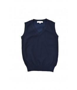 Vesta tricot bleumarin, baiat, Albert, 4-9 ani
