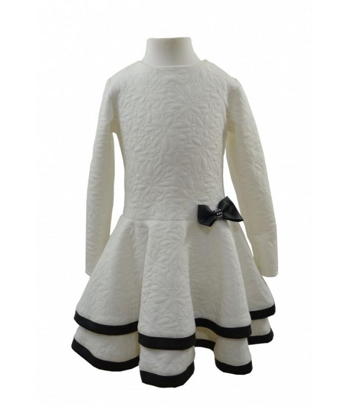 Rochia cu maneca lunga, Evelina, 8 ani, 128 cm