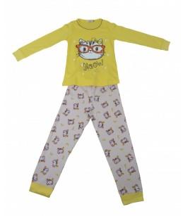 Pijamale fete, moel 8, 6-9 ani, 116-134 cm, JuliaKids, 5278