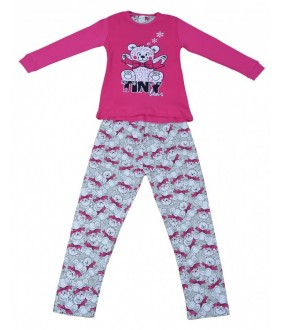 Pijamale fete, model 7, 3-7 ani, 98-122 cm, JuliaKids, 5279