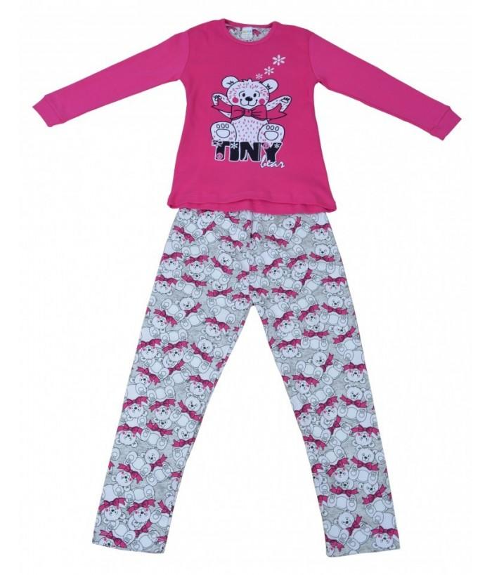 Pijamale fete, model 7, 3-7 ani, 98-122 cm, JuliaKids, 5279