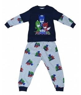 Pijama 6 baiat, 4-9 ani, bumbac