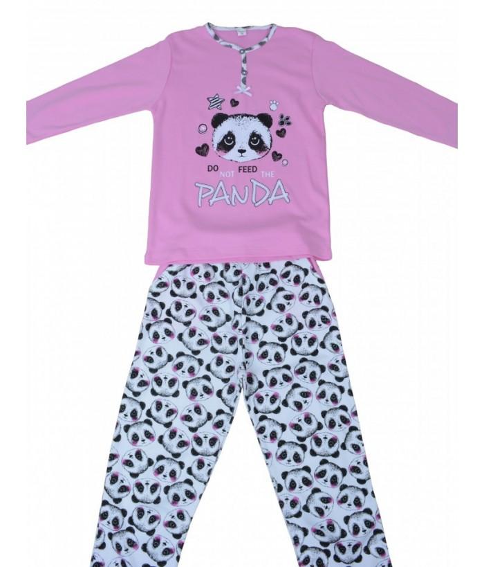 Pijamale fete, model 1, 10-12 ani, 140-152 cm, JuliaKids, 5281