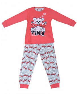 Pijamale fete, model 2, 3-6 ani, 98-116 cm, JuliaKids, 5282